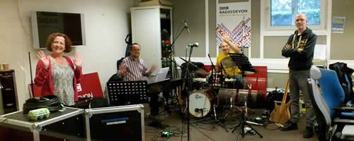 Clemas Music live performance at BBC Radio Devon studios